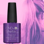Purple Gel Nail Polish